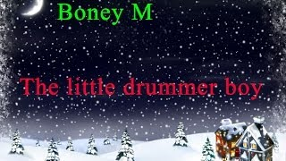 The little drummer boy - Boney M. Xmas song video (1080p)