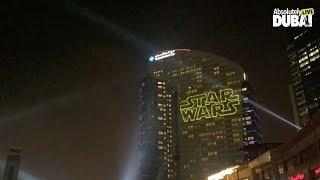 ALD presents: StarWars Laser-Show at Festival City Mall Dubai