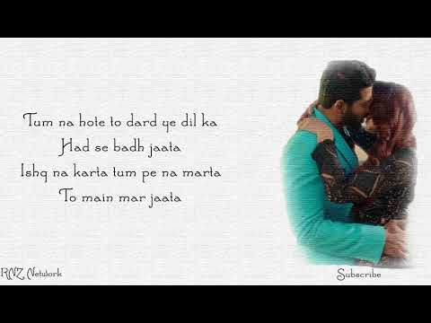 Tum Mere Ho Lyrics | Hate Story IV | Vivan Bhathena, Ihana Dhillon | Mithoon Jubin N Manoj M