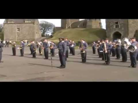 Air Cadet National Marching Band at Dover Castle 2013