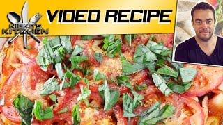 One Dish Tomato Pasta Bake   Nicko's Kitchen