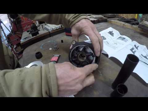 Evinrude 40 HP Lower Unit Part 2: Water Pump, Paint, Install