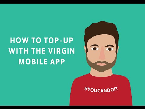 How to top-up your Virgin Mobile via the Virgin Mobile app