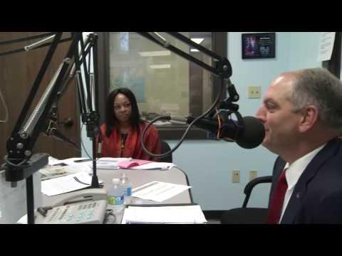 Gov. John Bel Edwards Ask the Governor Radio Show