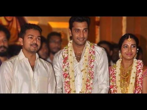 Vijay Attends Arulnidhi And Kerthana Marriage In Silk Dhoti Shirt Rajinikanth Sivaar You