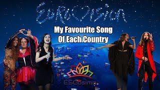 Eurovision Song Contest: My Favourite Song From Each Country (2000-2018) | ESCosimo
