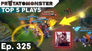 league of legends top 5 plays week 325   amazing fast flash combo