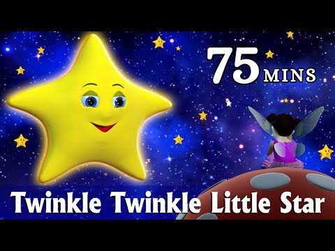Twinkle Twinkle Little Star Nursery Rhyme - Kids Songs - 3D Animation Rhymes for Children from YouTube · Duration:  1 hour 14 minutes 51 seconds