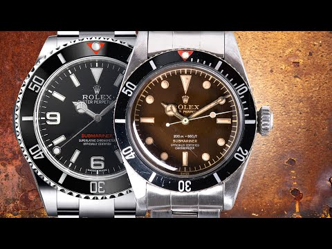 "What If Rolex Recreated The ""Big Crown"" Submariner?"