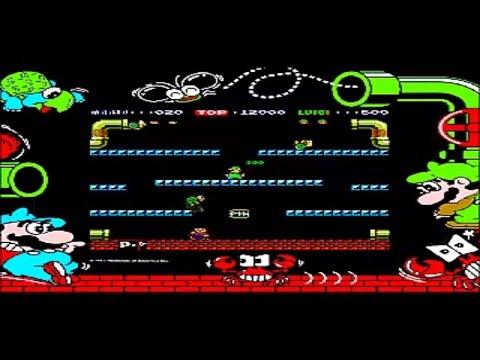 Mario Bros. - Arcade - Best Nintendo Games Ever (Nintendo 1983)