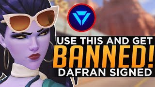 Overwatch: Cheating Apps BANNED! - Dafran Signed To OWL