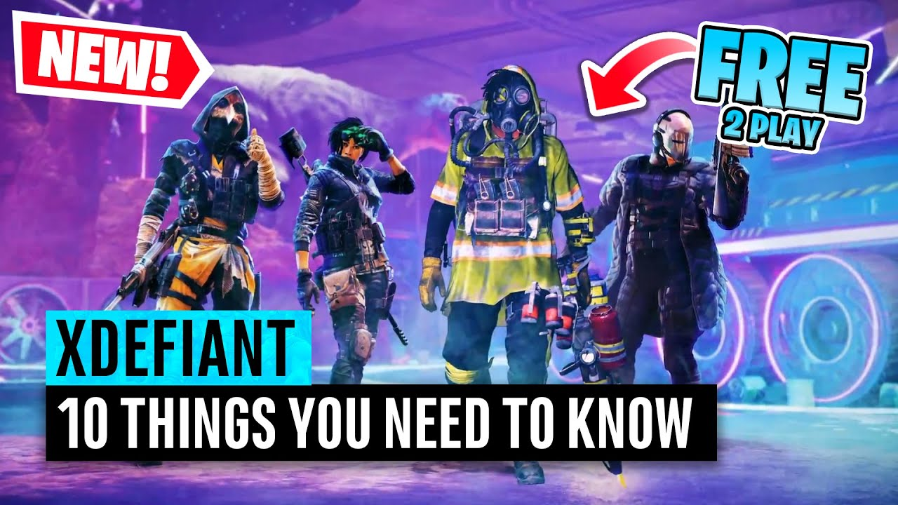 Tom Clancy's XDefiant | 10 Things you need to know (#1 IT'S FREE)