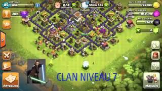 Gambar cover Clan niveau 7!
