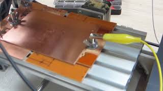 CNC #3 Height Mapping and Milling the PCB