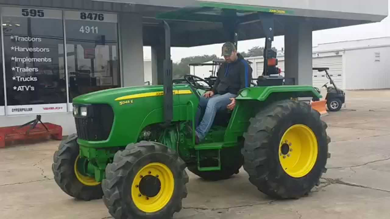 2008 John Deere 5045e For Sale Youtube
