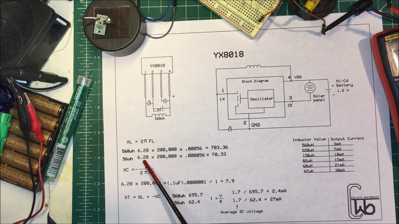 2x yx8018 Solar Charge Controller Solar Light IC Transistor