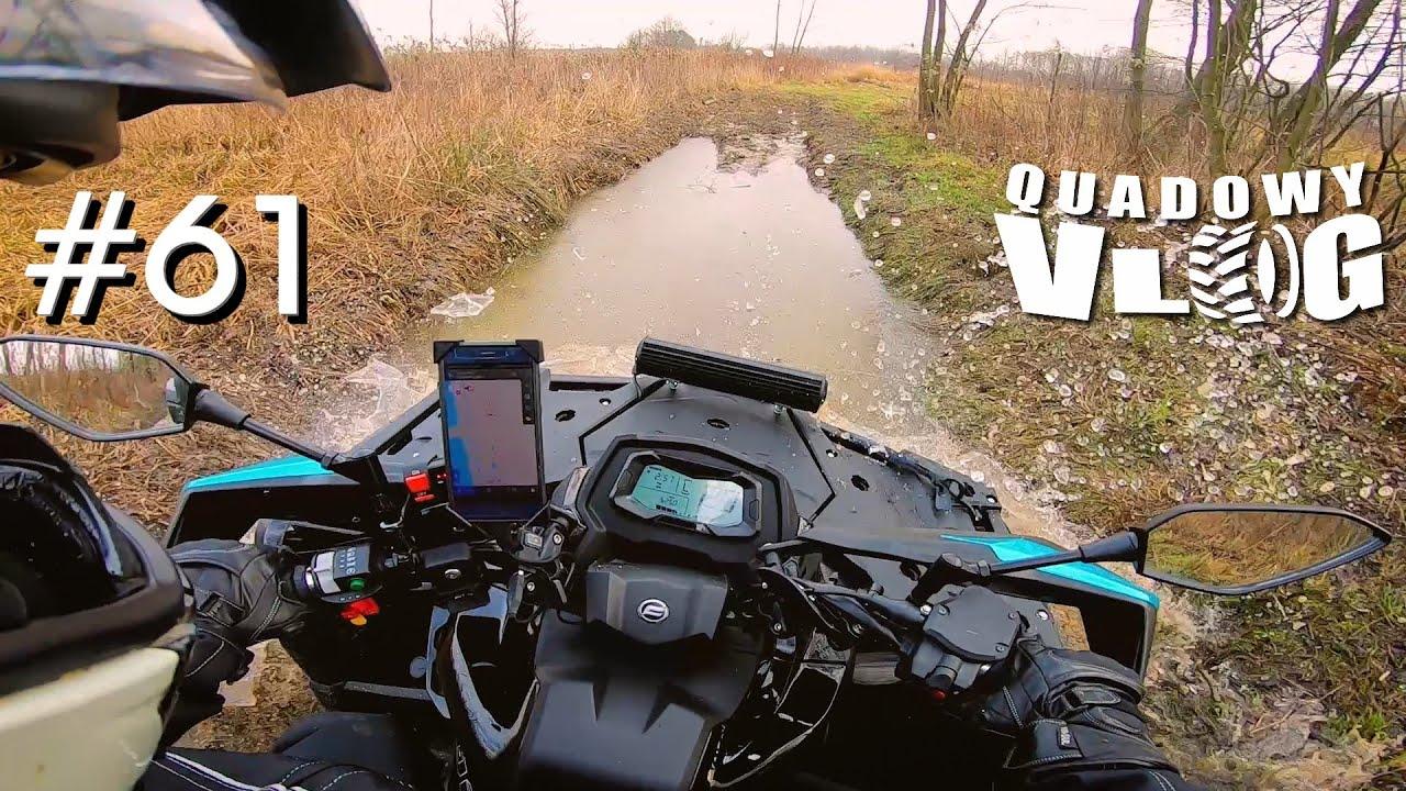 #61 - CF Moto 1000 Odblokowane, Modyfikacje, Urodziny i Wypadek na skuterze w...polach ( vlog quad )