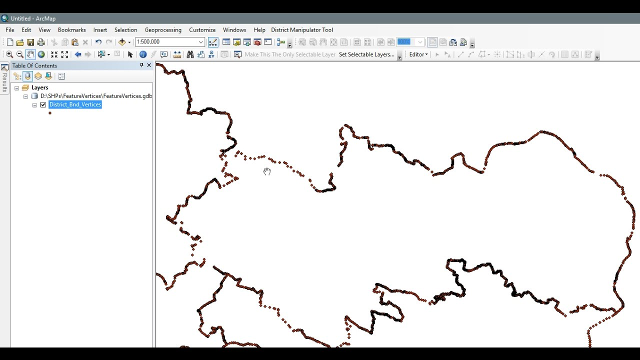 ArcGIS 10 2 - Feature Vertices to Points - Generate XY - Export to CSV