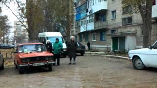 Стихийная торговля в Докучаевске
