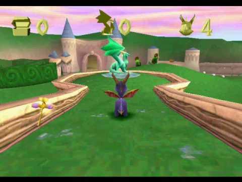 Spyro the Dragon (1998) Gameplay
