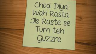 Chod Diya Woh Rasta❣️|Love💌Emotional WhatsApp Status | 😍•Nee Style •Sing by Rizwan Rits👼