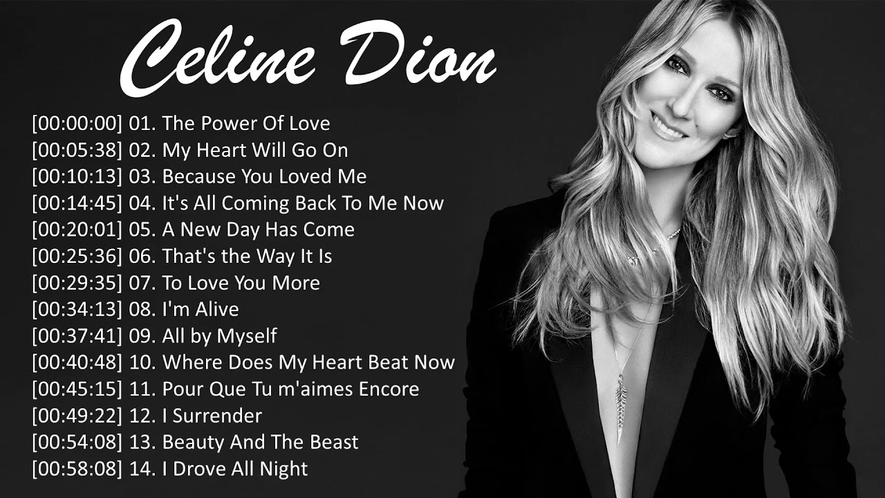 Download Celine Dion Greatest Hits - Best Songs