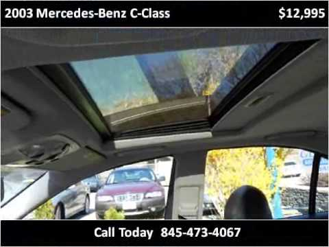 2003 mercedes benz c class used cars poughkeepsie ny youtube for Mercedes benz poughkeepsie ny