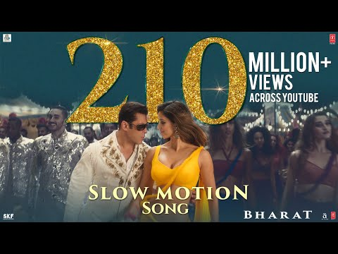 Bharat: Slow Motion Song | Salman Khan, Disha Patani | Visha