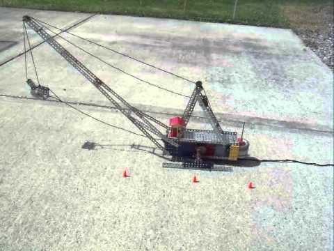 "Erector Set Walking Drag Line ""Little Muskie"""