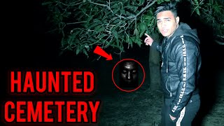 Visiting Haunted Cemetery At Night - Ankur Kashyap Vlogs