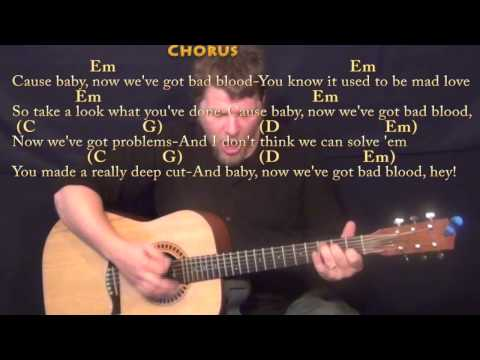 Nothing But The Blood Guitar Chords - Swift - Khmer Chords
