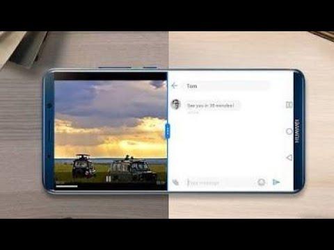 Huawei Split Screen Mode