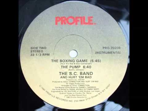 Hurt 'Em Bad And The S.C. Band - The Pump. 1983, Profile Records, Inc.