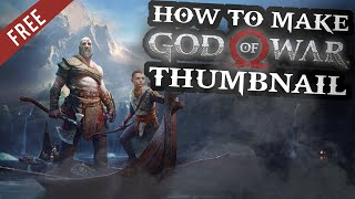 God Of War Thumbnail Design