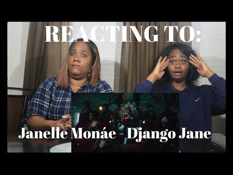 Janelle Monáe – Django Jane [Official Music Video] REACTION
