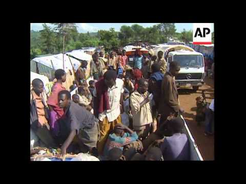 RWANDA: UN DOUBLES NUMBER OF REFUGEES MOVED EACH DAY
