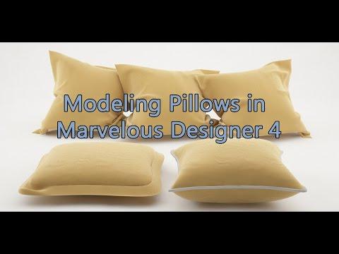 Modeling a Pillow in Marvelous Designer