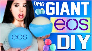 diy giant eos lip balm   how to make the biggest eos in the world   gigantic eos   grande eos
