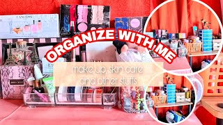 MAKE UP ORGANIZATION ( Organizing Make Up, Skin Care And Other Stuffs )   Noemie Grace Esber