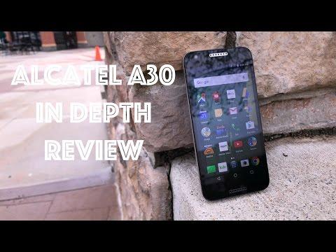 Alcatel A30 $60 Smartphone in Depth Review
