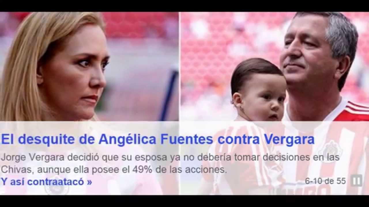 Angélica Fuentes contraataca a Jorge Vergara con asamblea ...  Angélica Fuent...