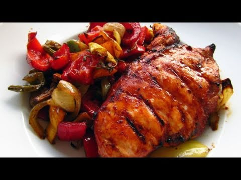 healthy-bbq-chicken-with-roasted-veggies-recipe