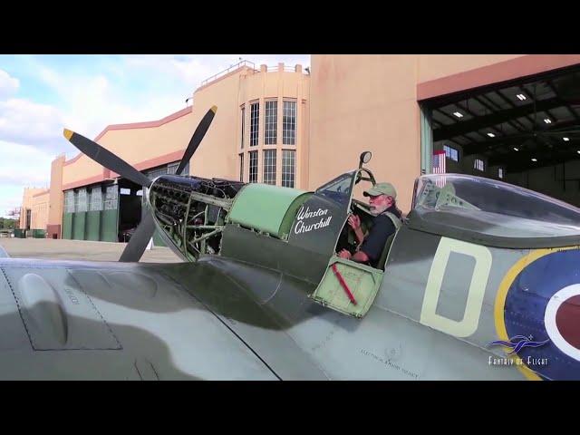 Supermarine Spitfire - Start & Taxi