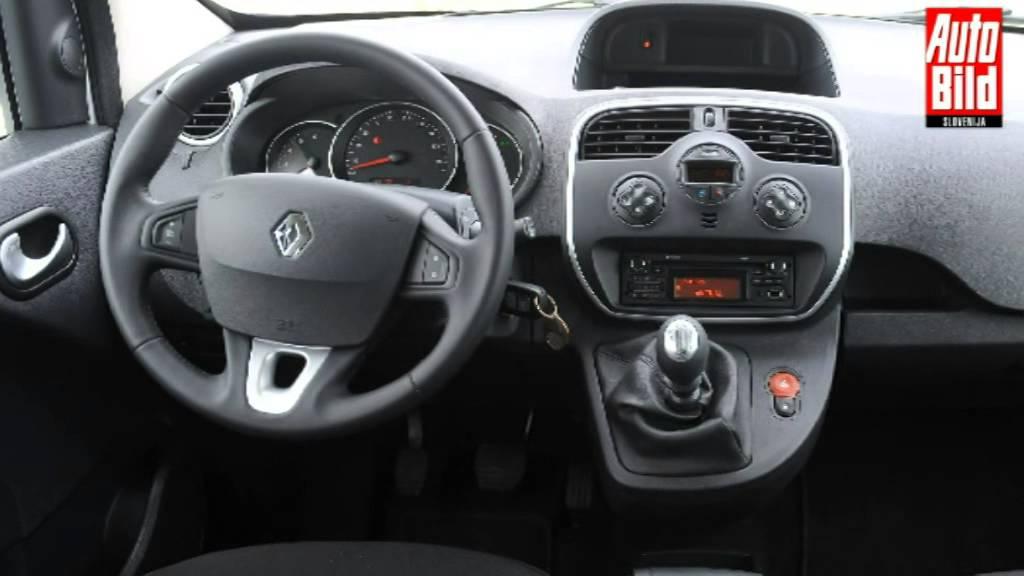 Renault kangoo 2016 interior