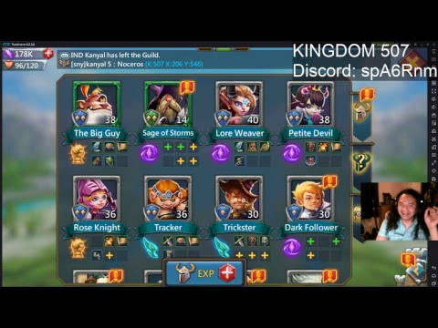 Lords Mobile - NEW ACCOUNT! NEW KINGDOM! Kingdom 507 | Sny ~ Sneaky Squad