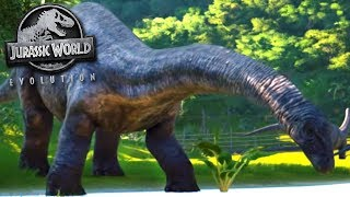 THE APATOSAURUS! - Jurassic World Evolution