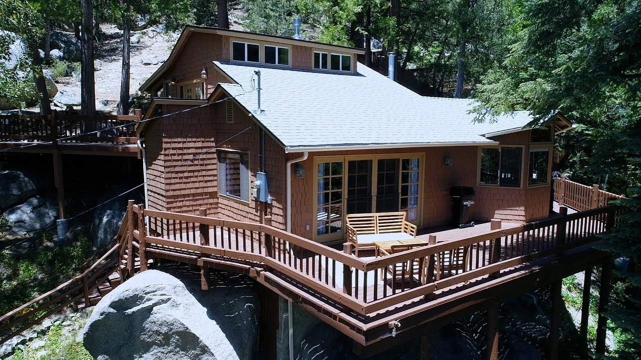 creek cabins of inn outdoor unique gazebo ca in quiet lovely idyllbrook cabin cabbi rental vacation idyllwild