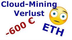 600 € Verlust durch Cloud-Mining - 1 Jahr Erfahrung mit Hashflare.io