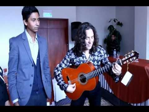 """Hugo Chiliquinga II y José Fernández Torres """"Tomatito"""""""