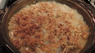 Cream Of Mushroom Brown Rice Casserole With Chicken